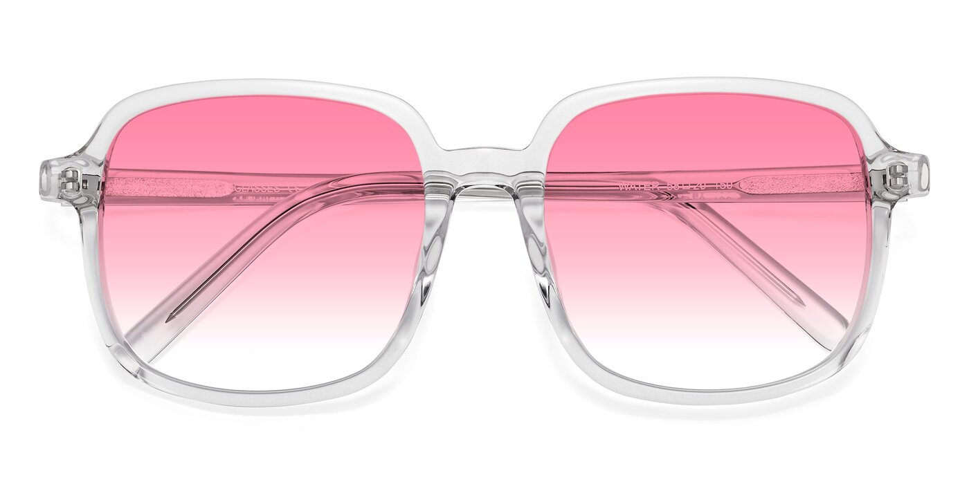 Water - Clear Gradient Sunglasses