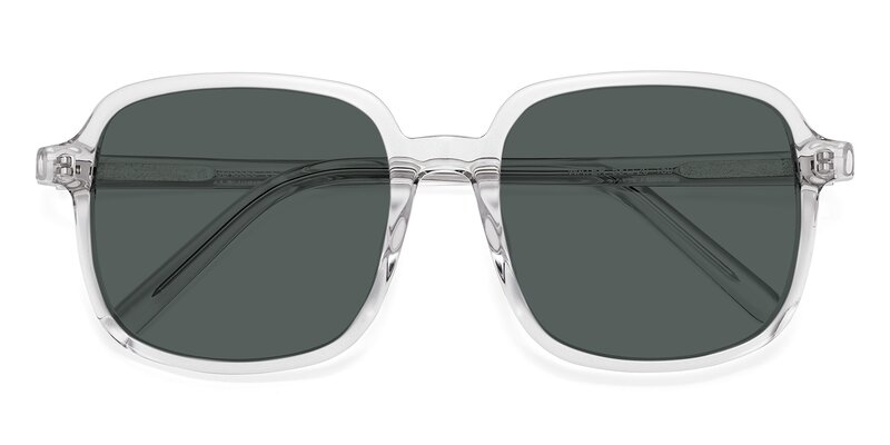 Water - Clear Polarized Sunglasses