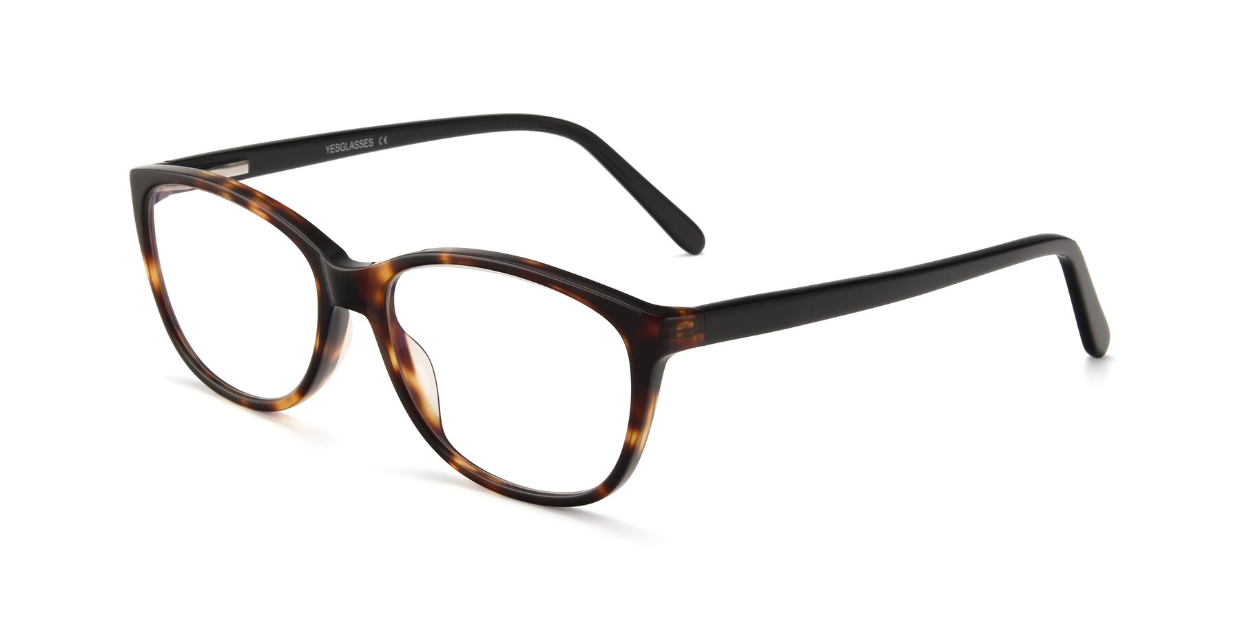Angle of Xavier in Tortoise with Clear Blue Light Blocking Lenses