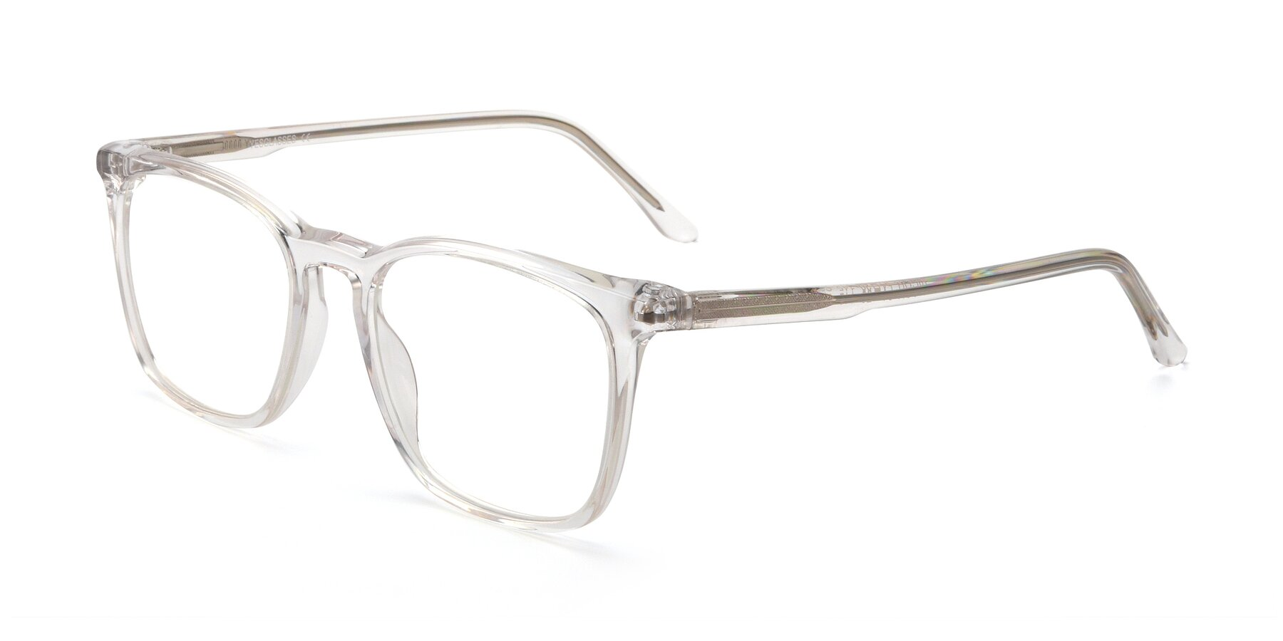 Angle of Vigor in Clear with Clear Blue Light Blocking Lenses