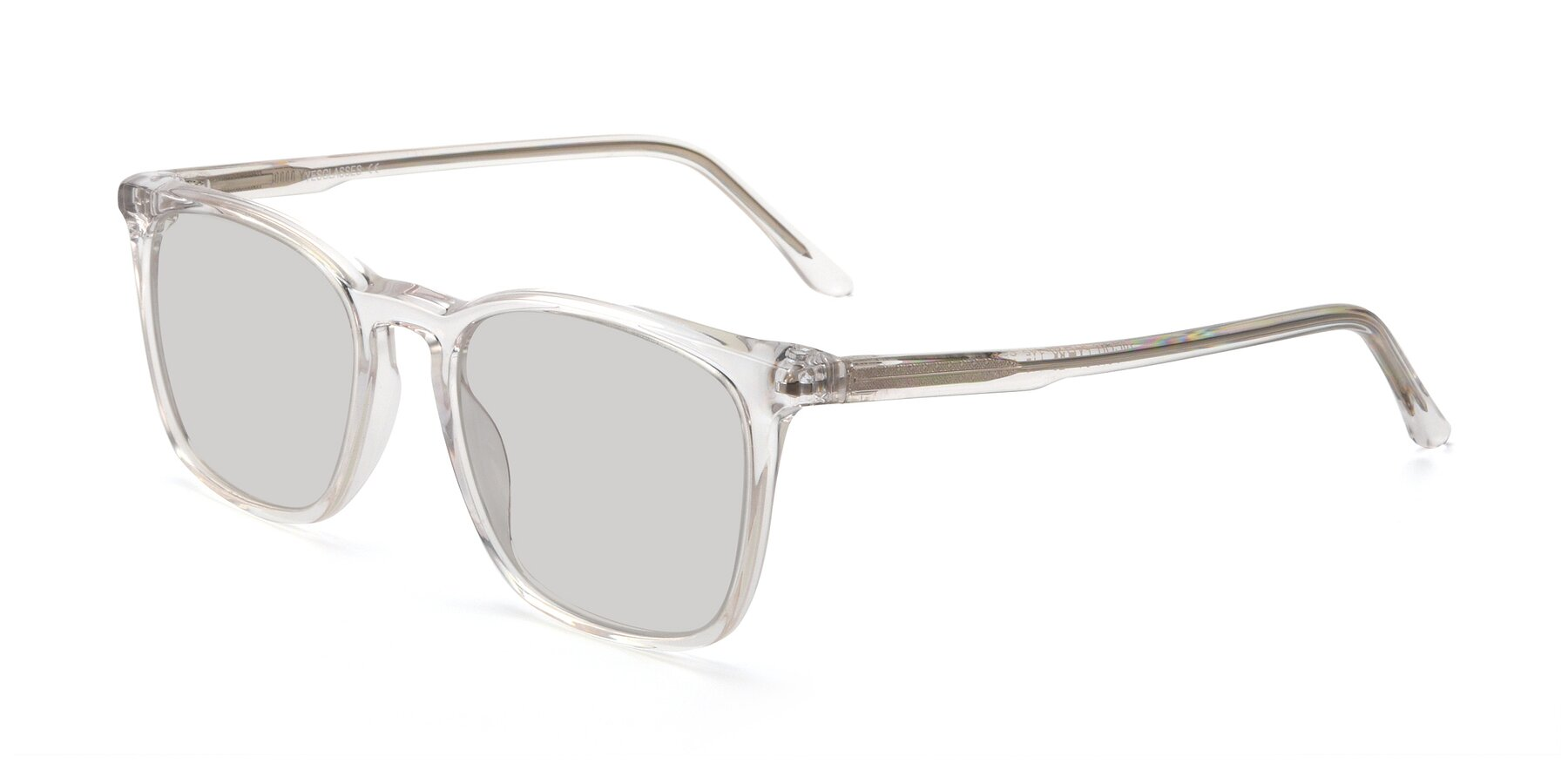 Angle of Vigor in Clear with Light Gray Tinted Lenses
