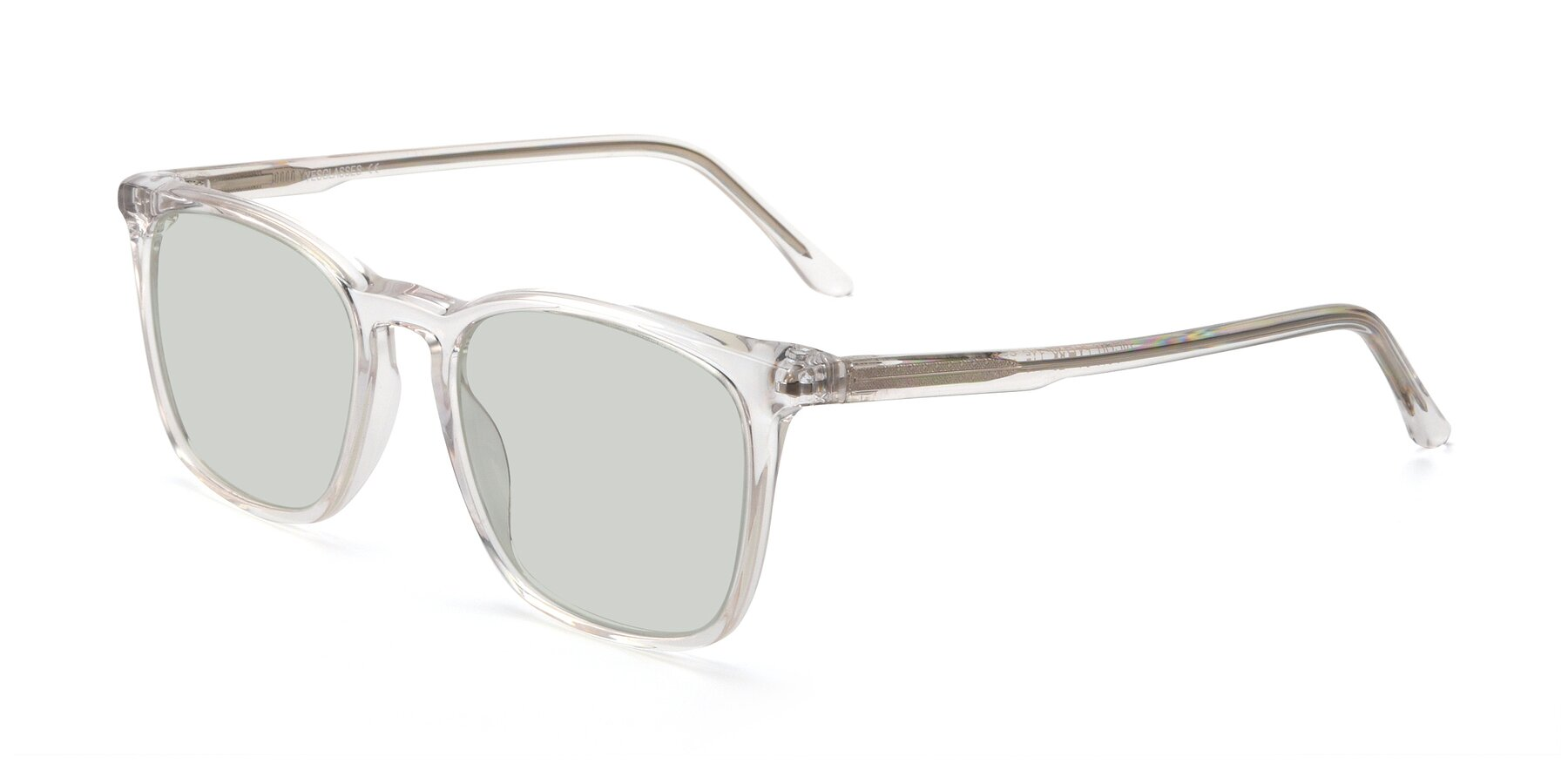 Angle of Vigor in Clear with Light Green Tinted Lenses