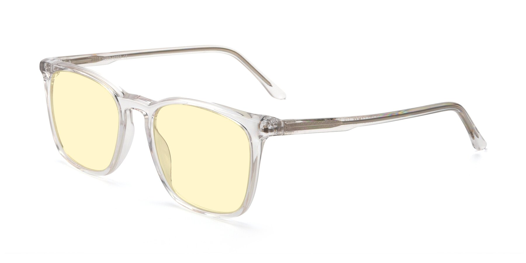 Angle of Vigor in Clear with Light Yellow Tinted Lenses