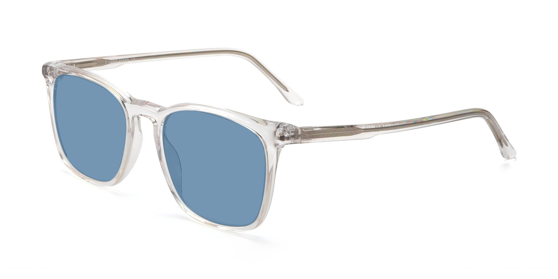 Angle of Vigor in Clear with Medium Blue Tinted Lenses