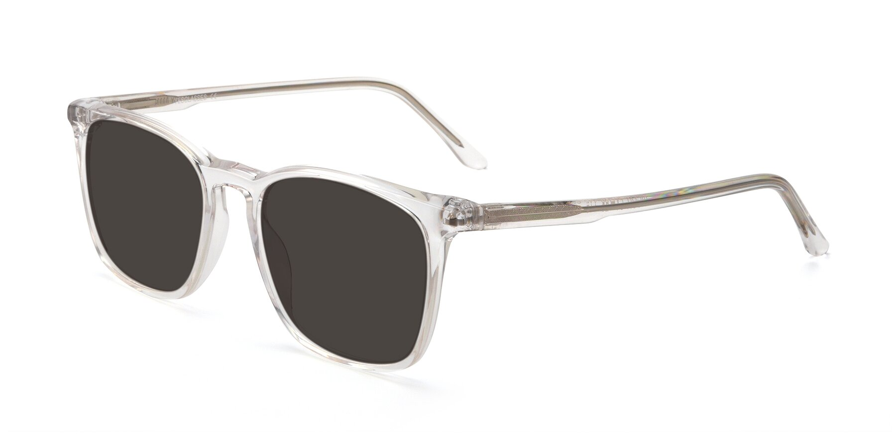 Angle of Vigor in Clear with Gray Tinted Lenses