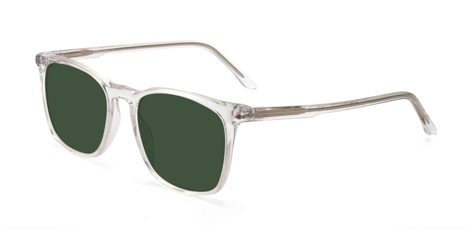 Angle of Vigor in Clear with Green Tinted Lenses