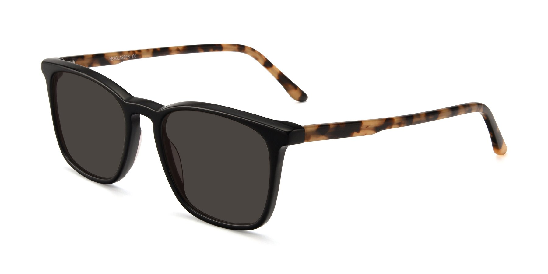 Angle of Vigor in Black-Tortoise with Gray Tinted Lenses