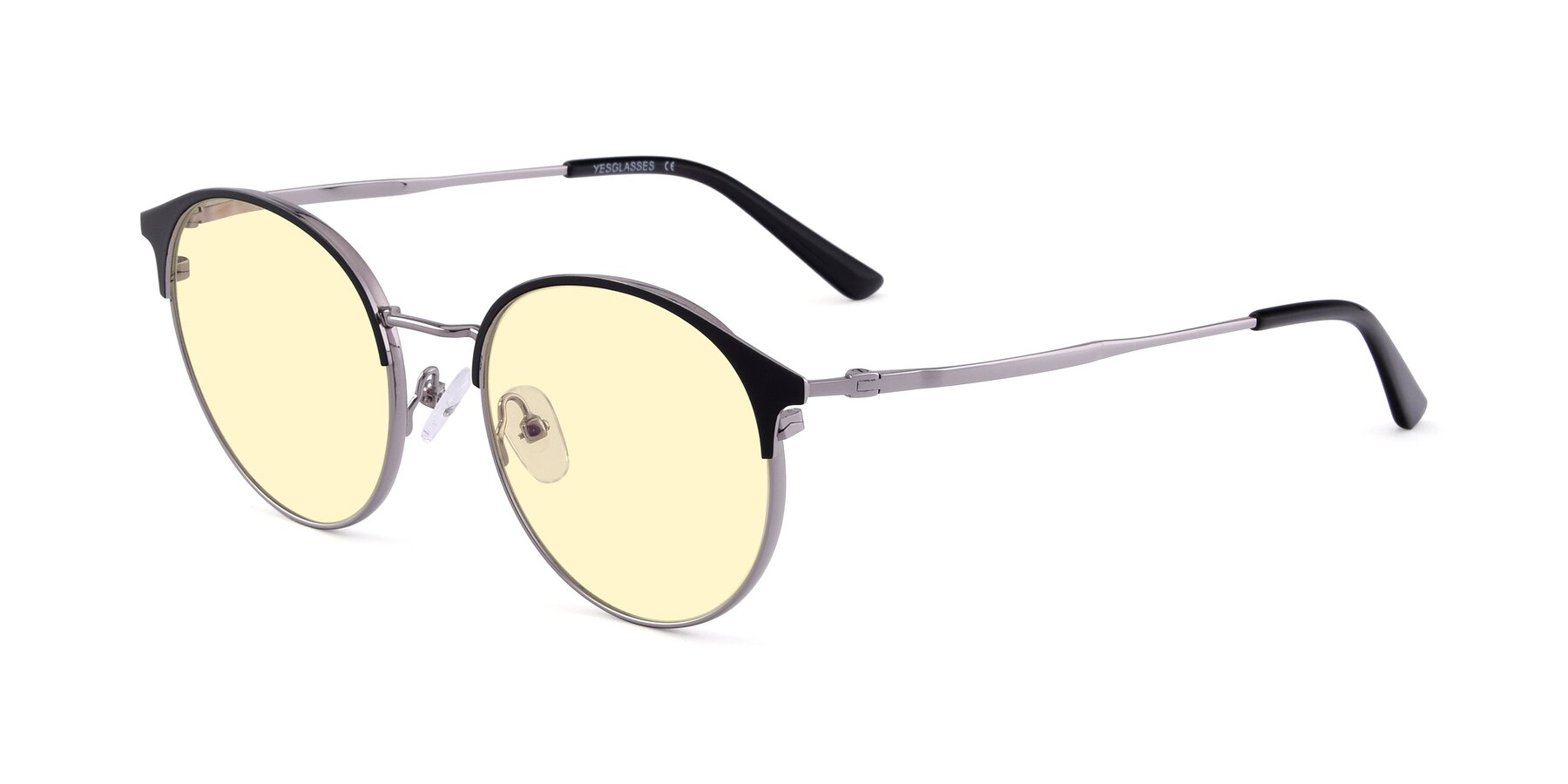 Angle of Berkley in Black-Gun with Light Yellow Tinted Lenses