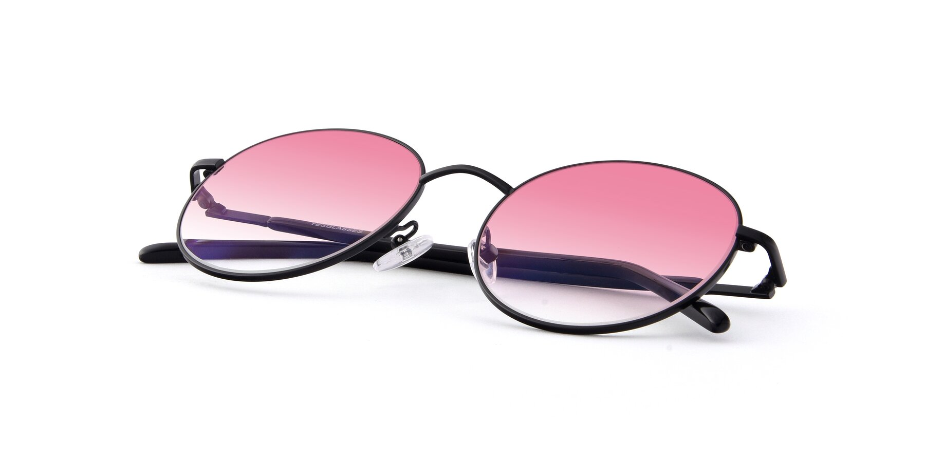 View of Cosmos in Black with Pink Gradient Lenses