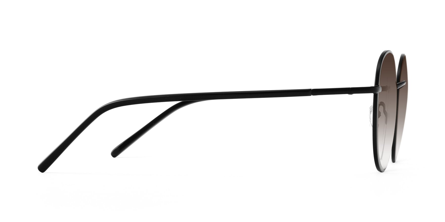 Side of Cosmos in Black with Brown Gradient Lenses