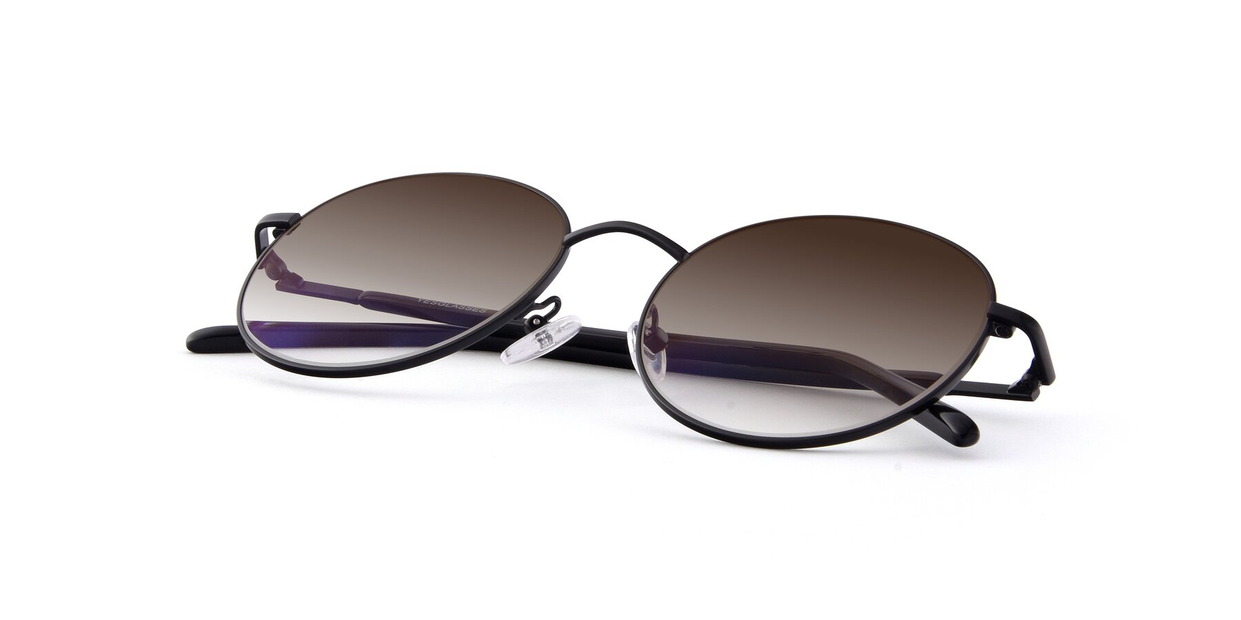 View of Cosmos in Black with Brown Gradient Lenses