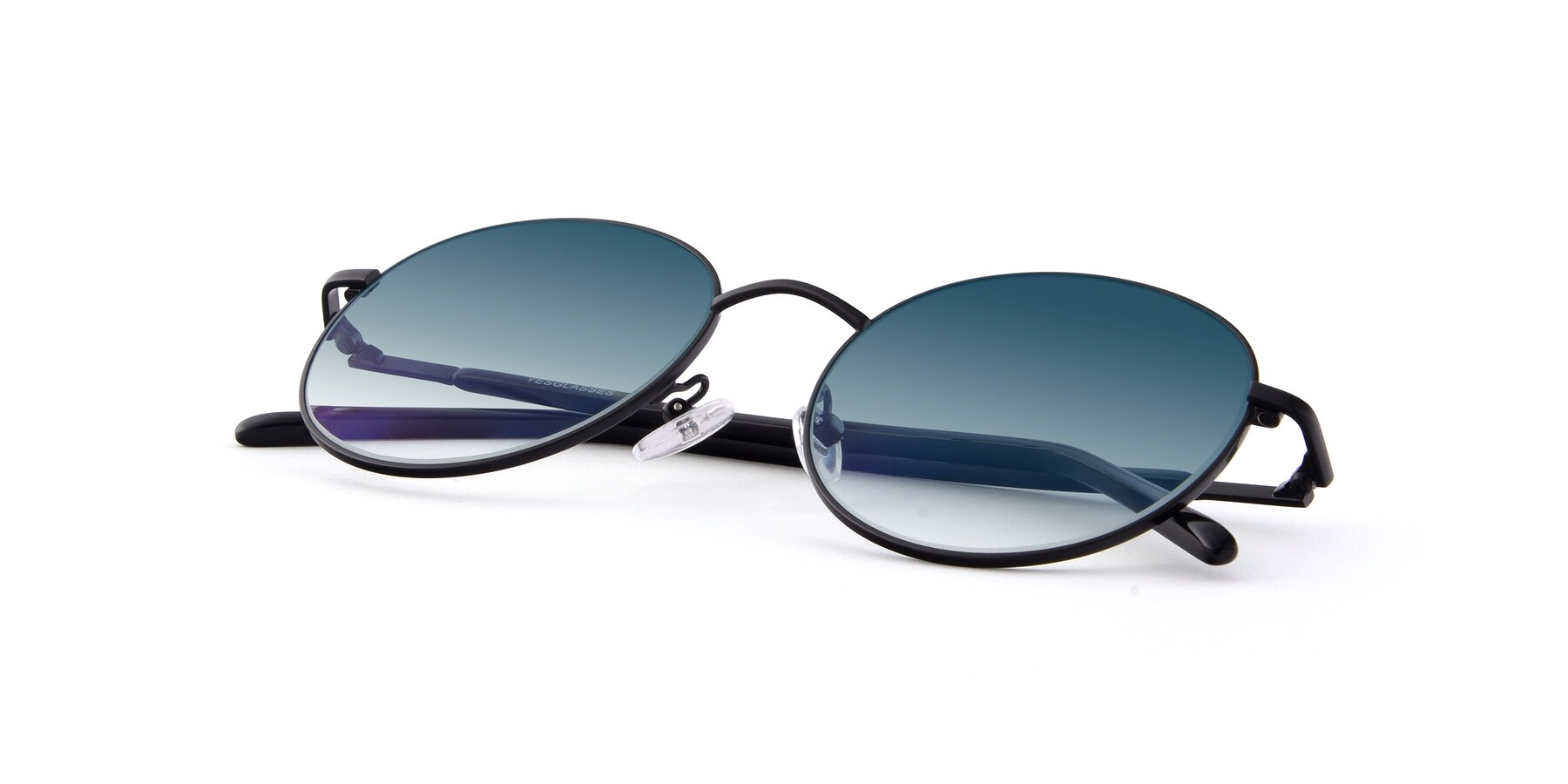 View of Cosmos in Black with Blue Gradient Lenses