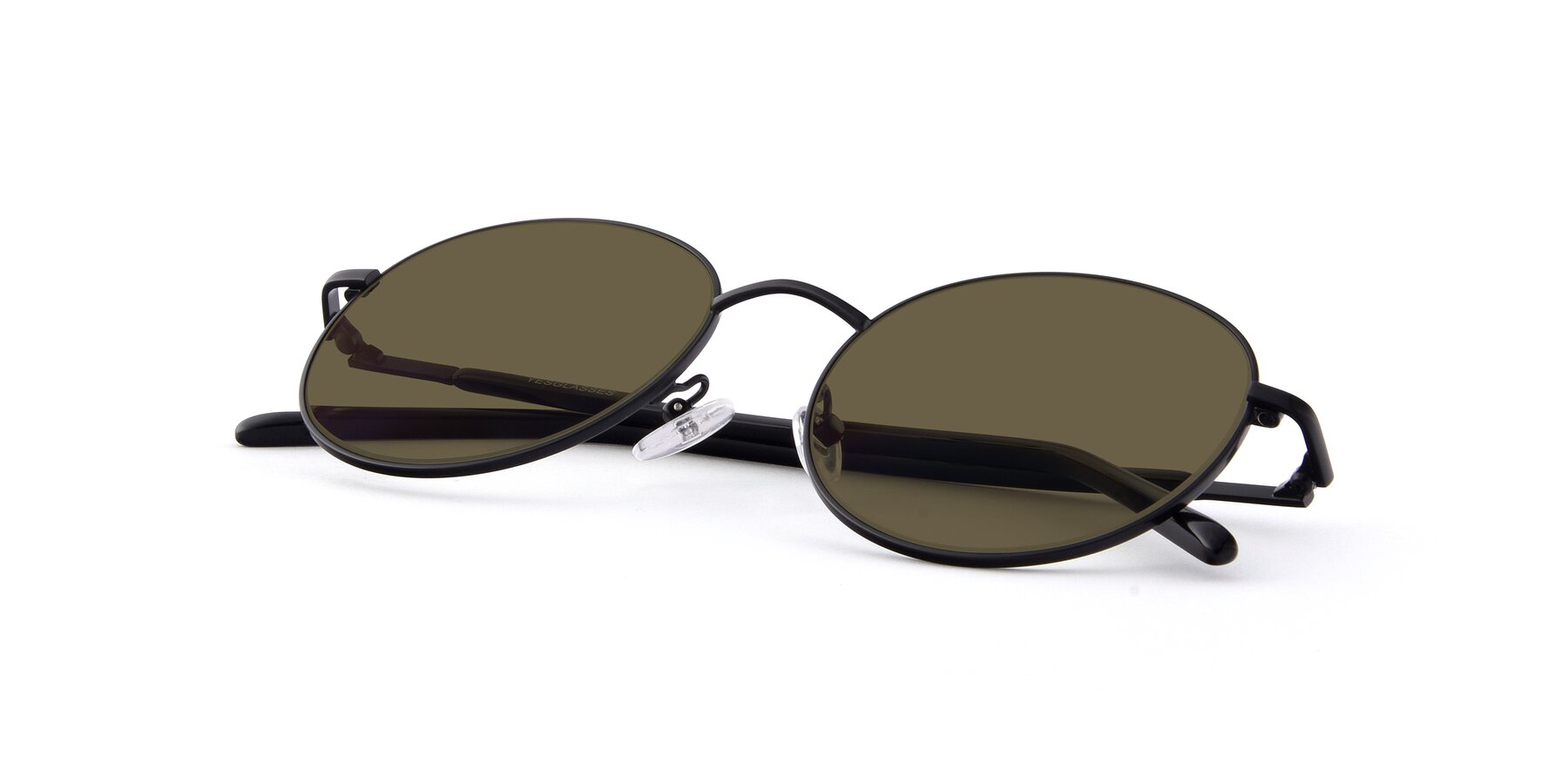 View of Cosmos in Black with Brown Polarized Lenses