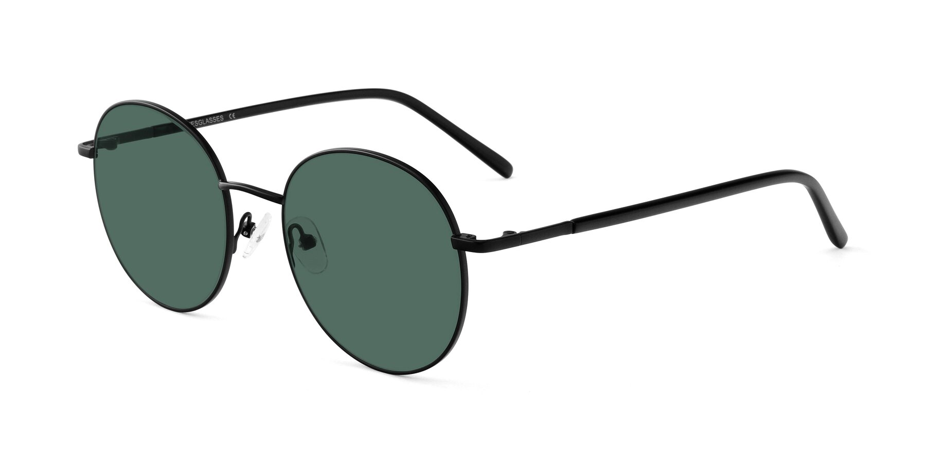Angle of Cosmos in Black with Green Polarized Lenses