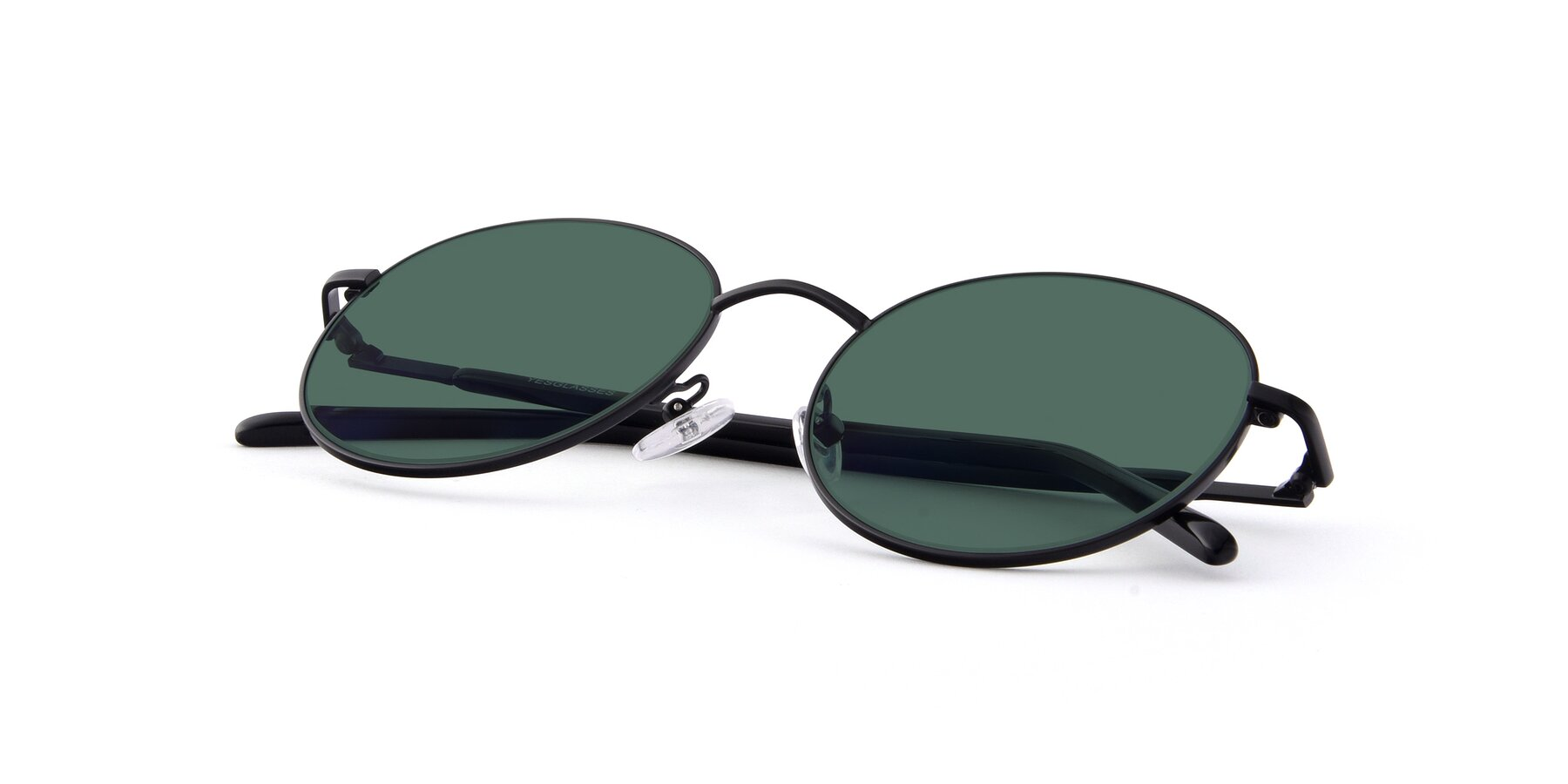 View of Cosmos in Black with Green Polarized Lenses
