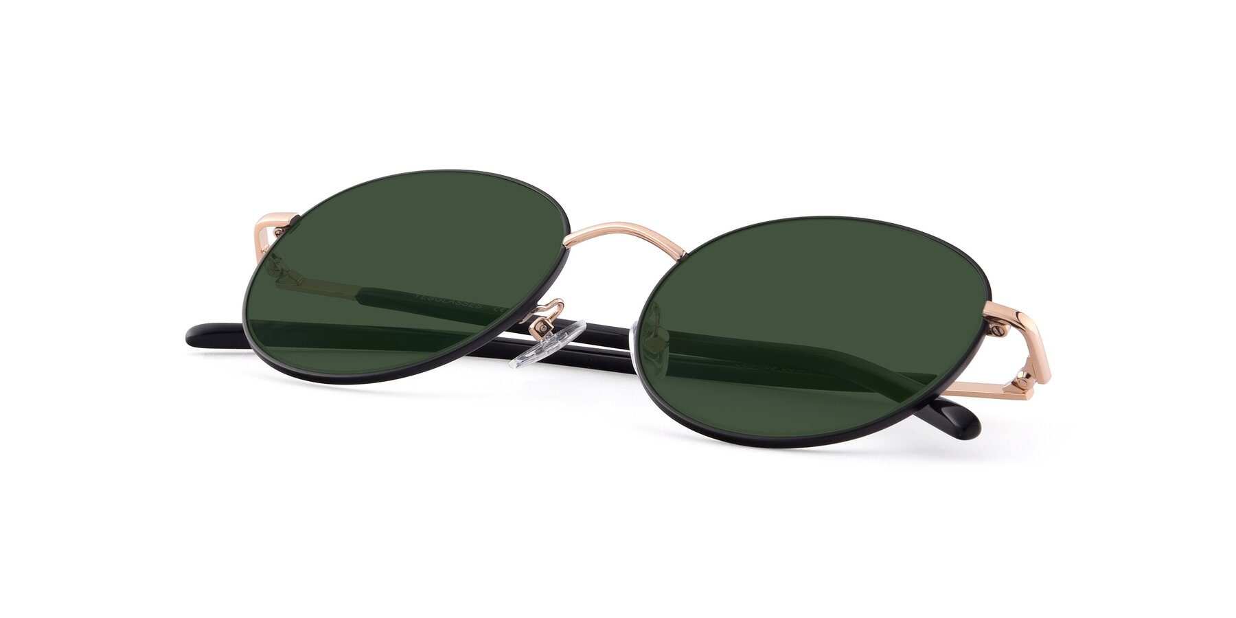 View of Cosmos in Black-Gold with Green Tinted Lenses