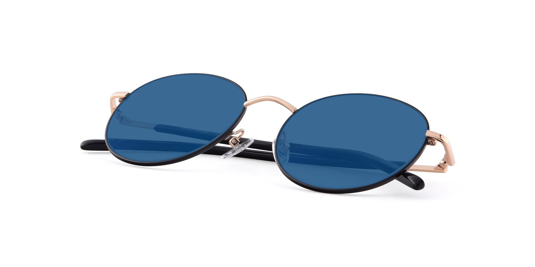 View of Cosmos in Black-Gold with Blue Tinted Lenses