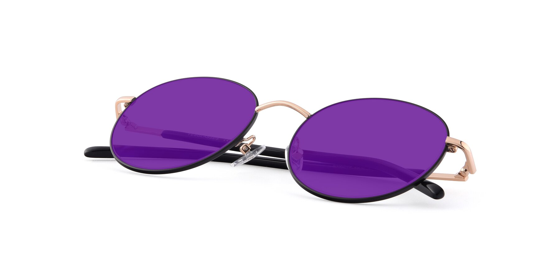 View of Cosmos in Black-Gold with Purple Tinted Lenses