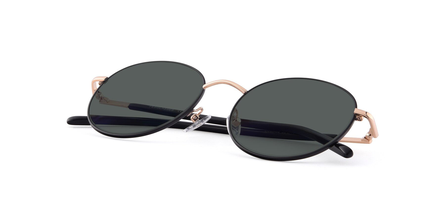 View of Cosmos in Black-Gold with Gray Polarized Lenses