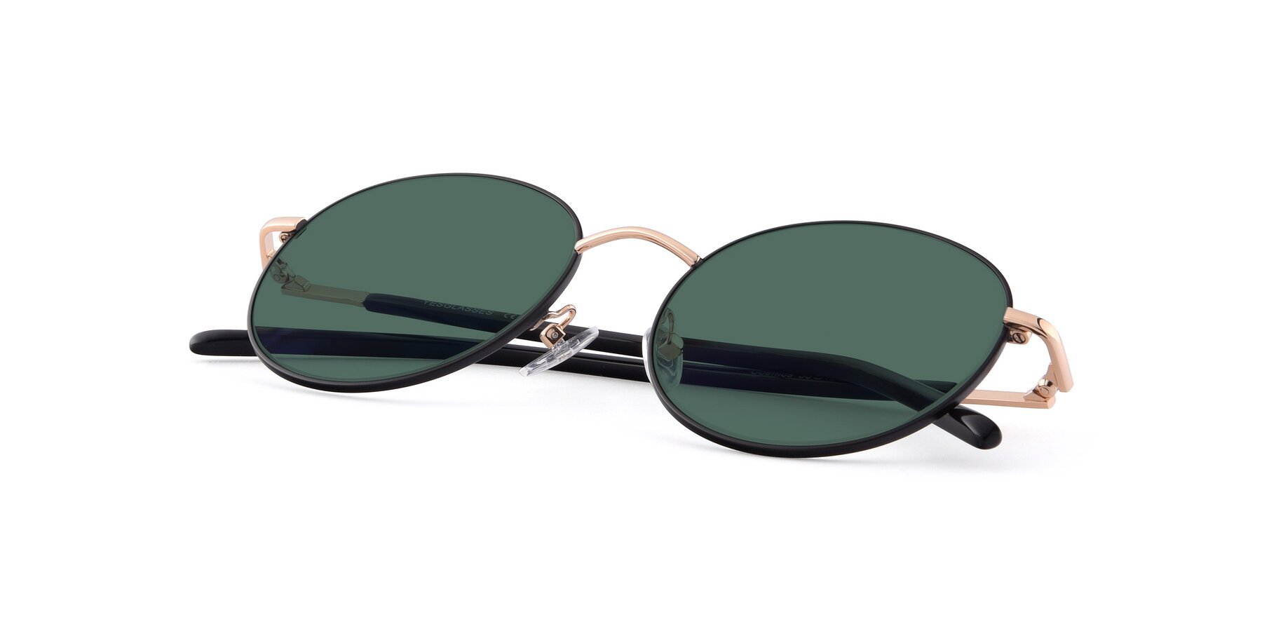 View of Cosmos in Black-Gold with Green Polarized Lenses