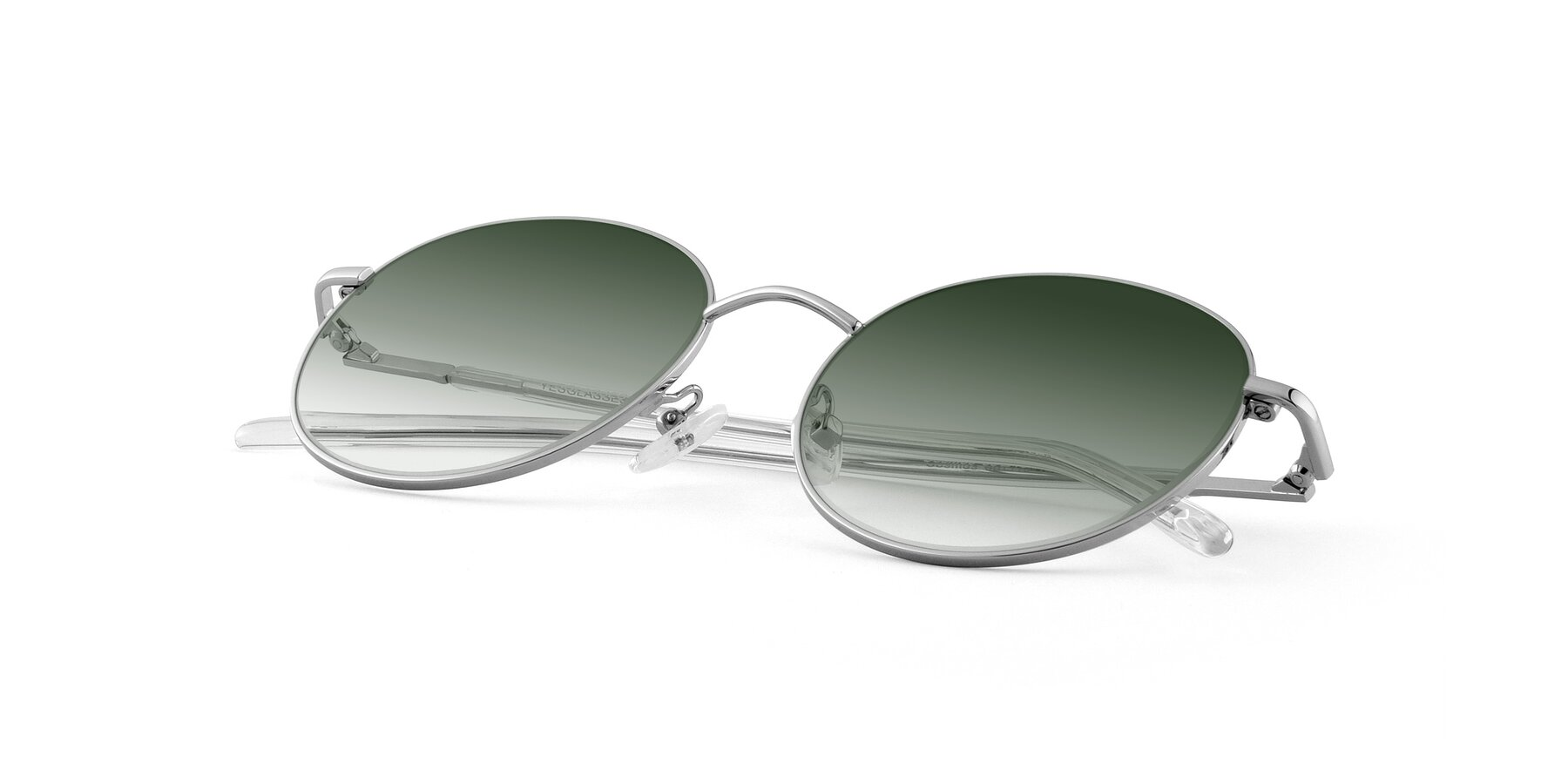 View of Cosmos in Silver with Green Gradient Lenses