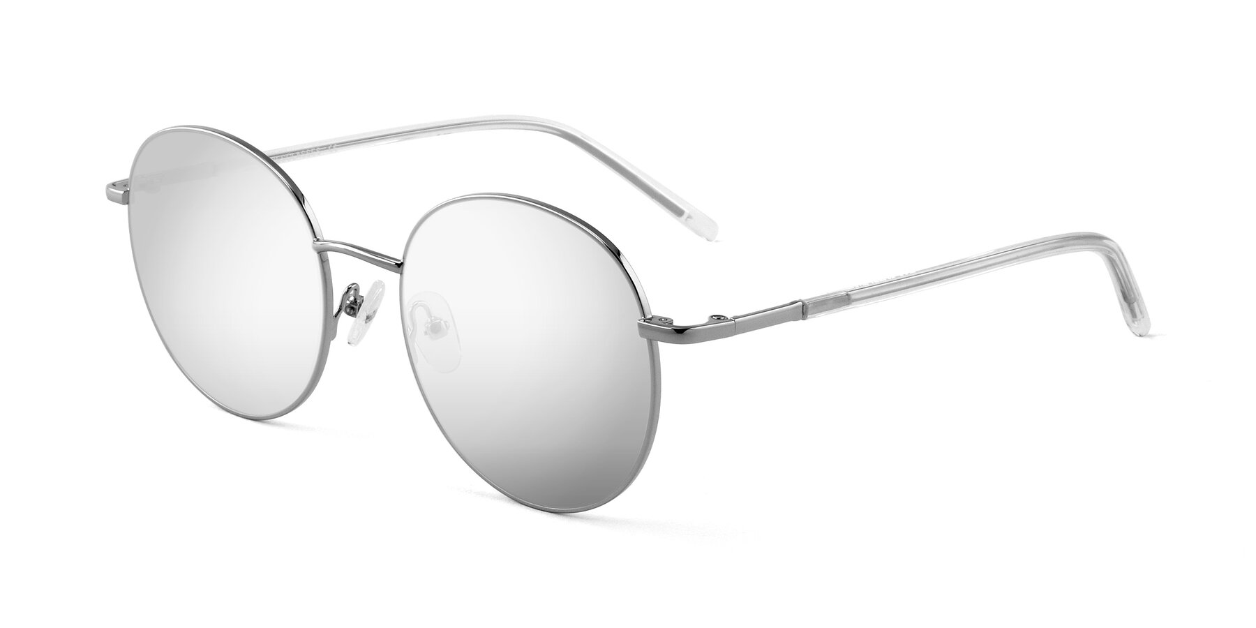 Angle of Cosmos in Silver with Silver Mirrored Lenses