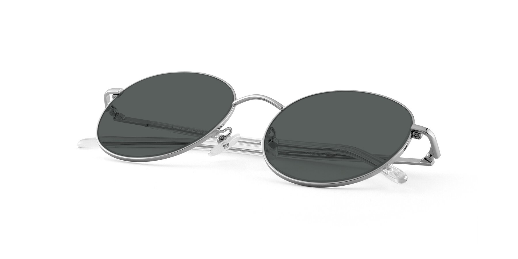 View of Cosmos in Silver with Gray Polarized Lenses