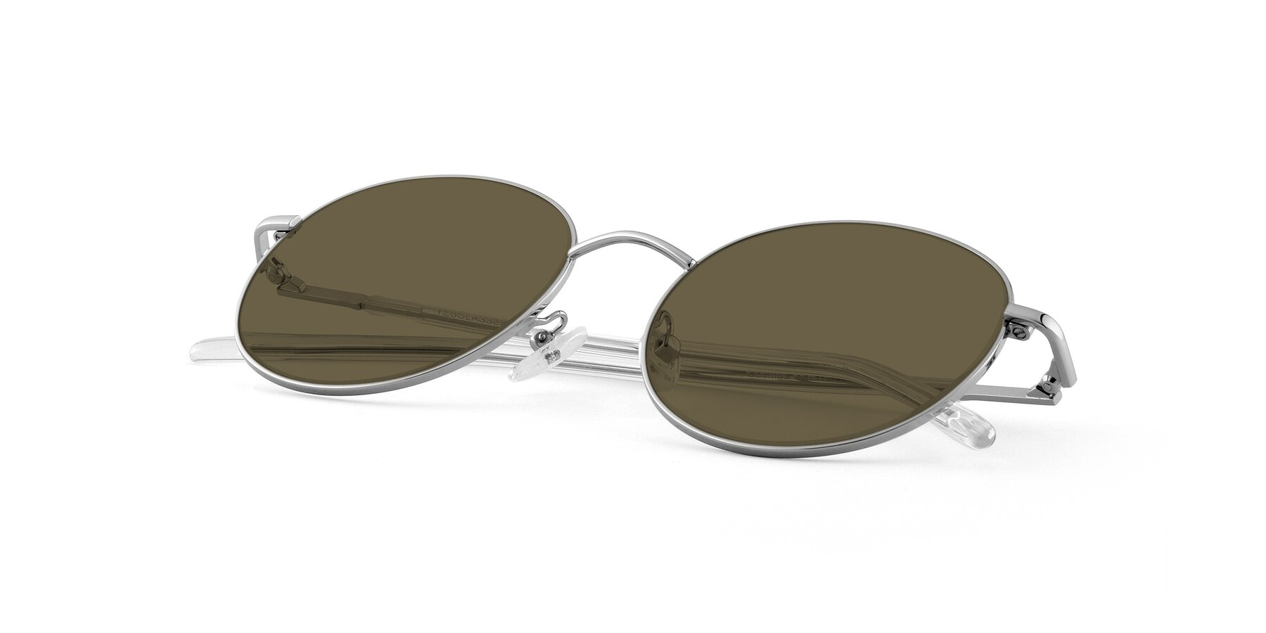 View of Cosmos in Silver with Brown Polarized Lenses