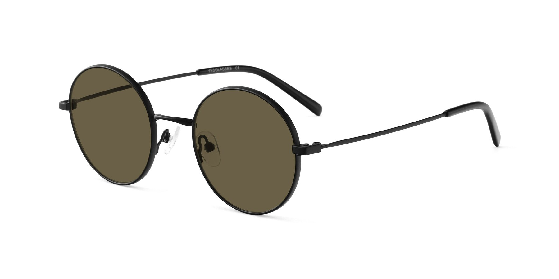 Angle of Moore in Black with Brown Polarized Lenses