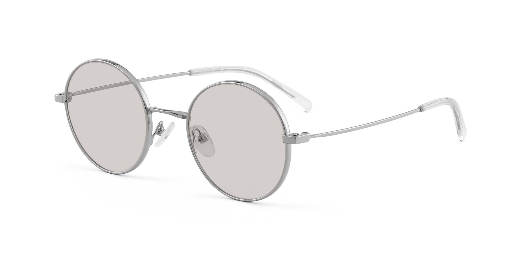 Angle of Moore in Sliver with Light Brown Tinted Lenses