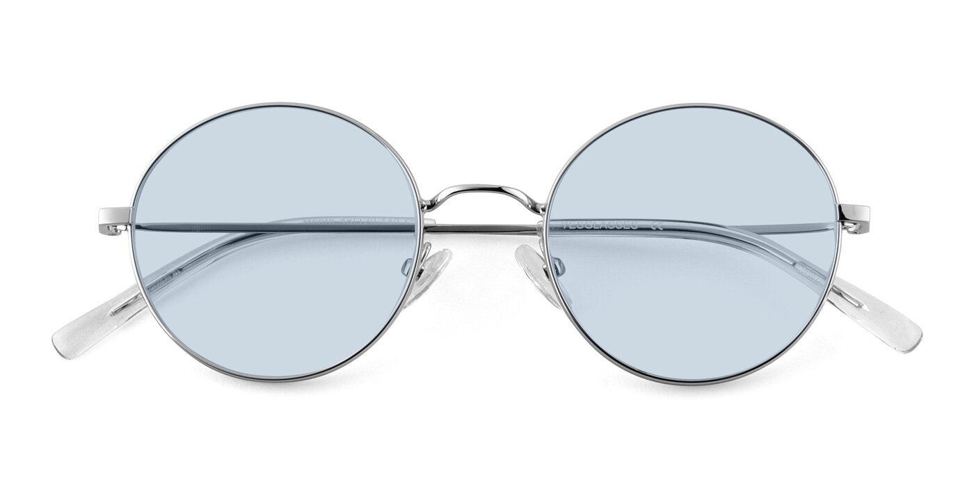 Moore - Silver Tinted Sunglasses