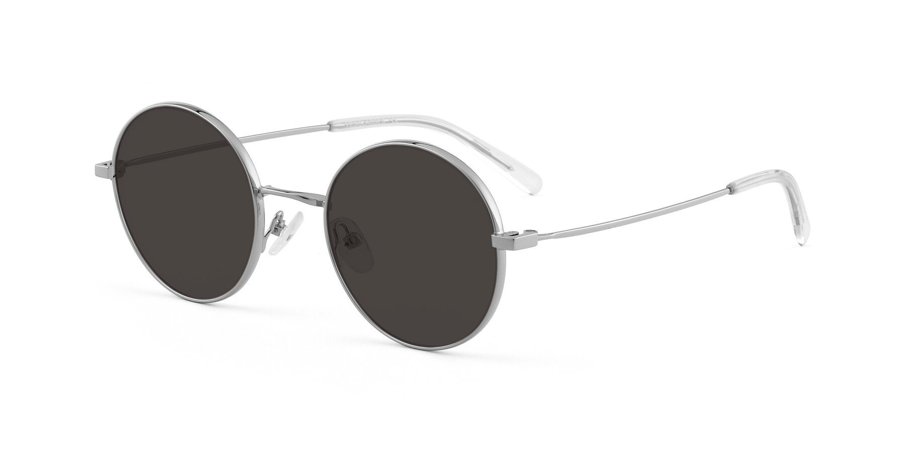 Angle of Moore in Sliver with Gray Tinted Lenses