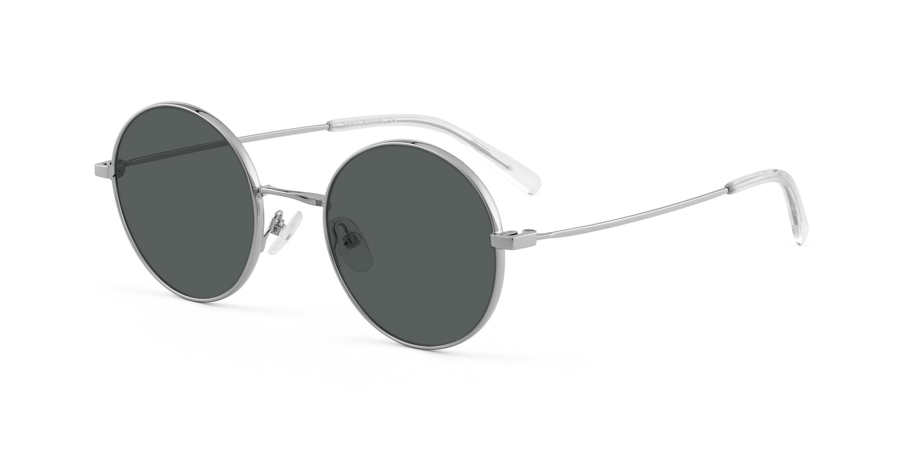 Angle of Moore in Silver with Gray Polarized Lenses