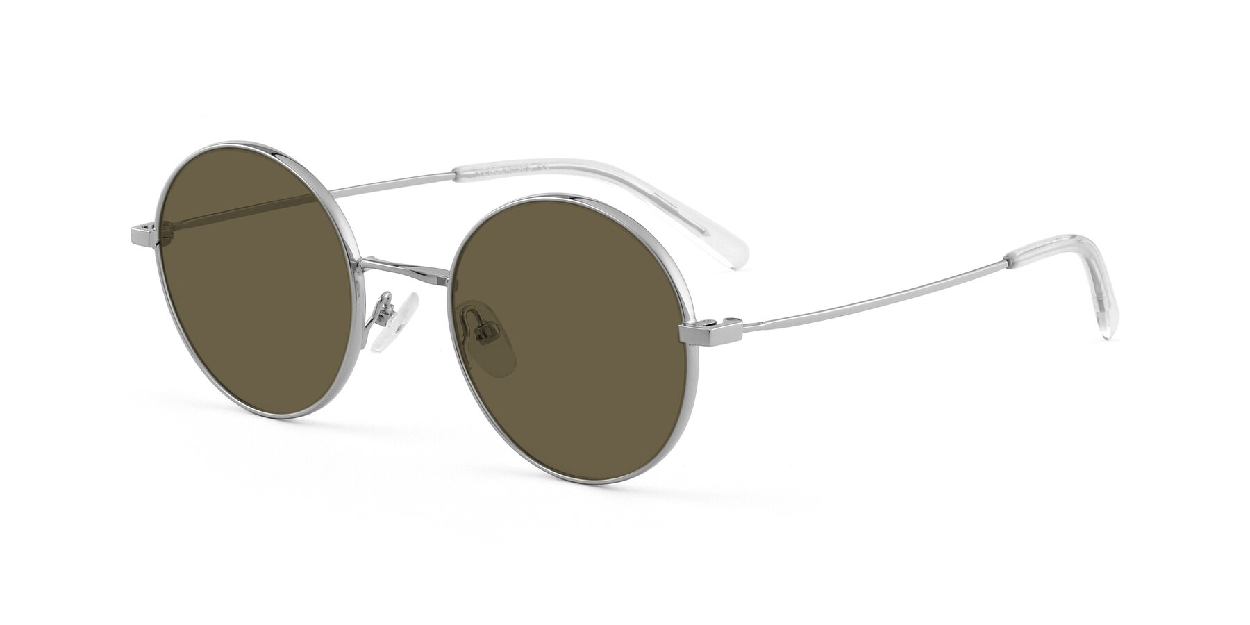 Angle of Moore in Silver with Brown Polarized Lenses