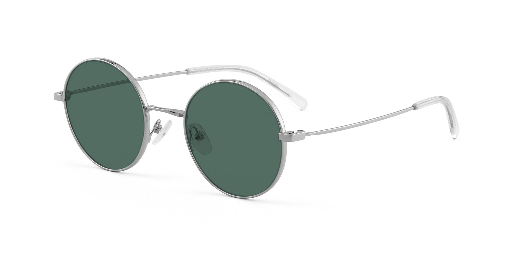 Angle of Moore in Silver with Green Polarized Lenses