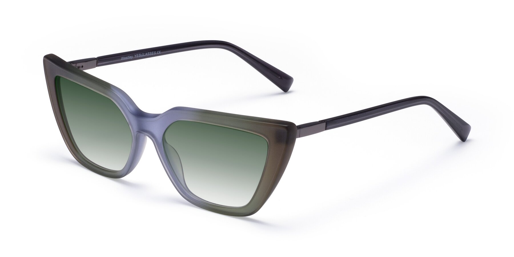 Angle of Westley in Gradient Green with Green Gradient Lenses