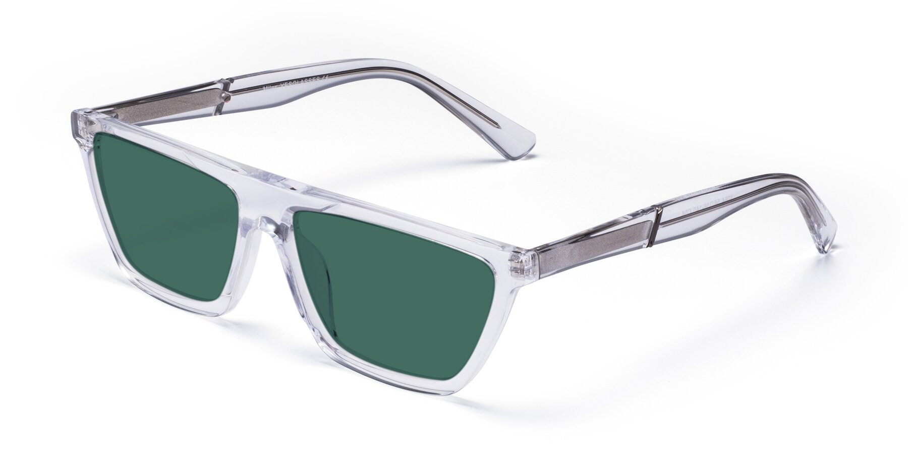 Angle of Miles in Clear with Green Polarized Lenses