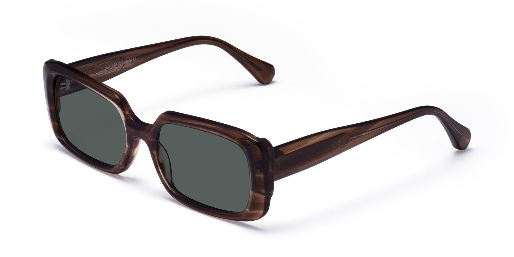 Angle of Board in Coffee with Gray Polarized Lenses