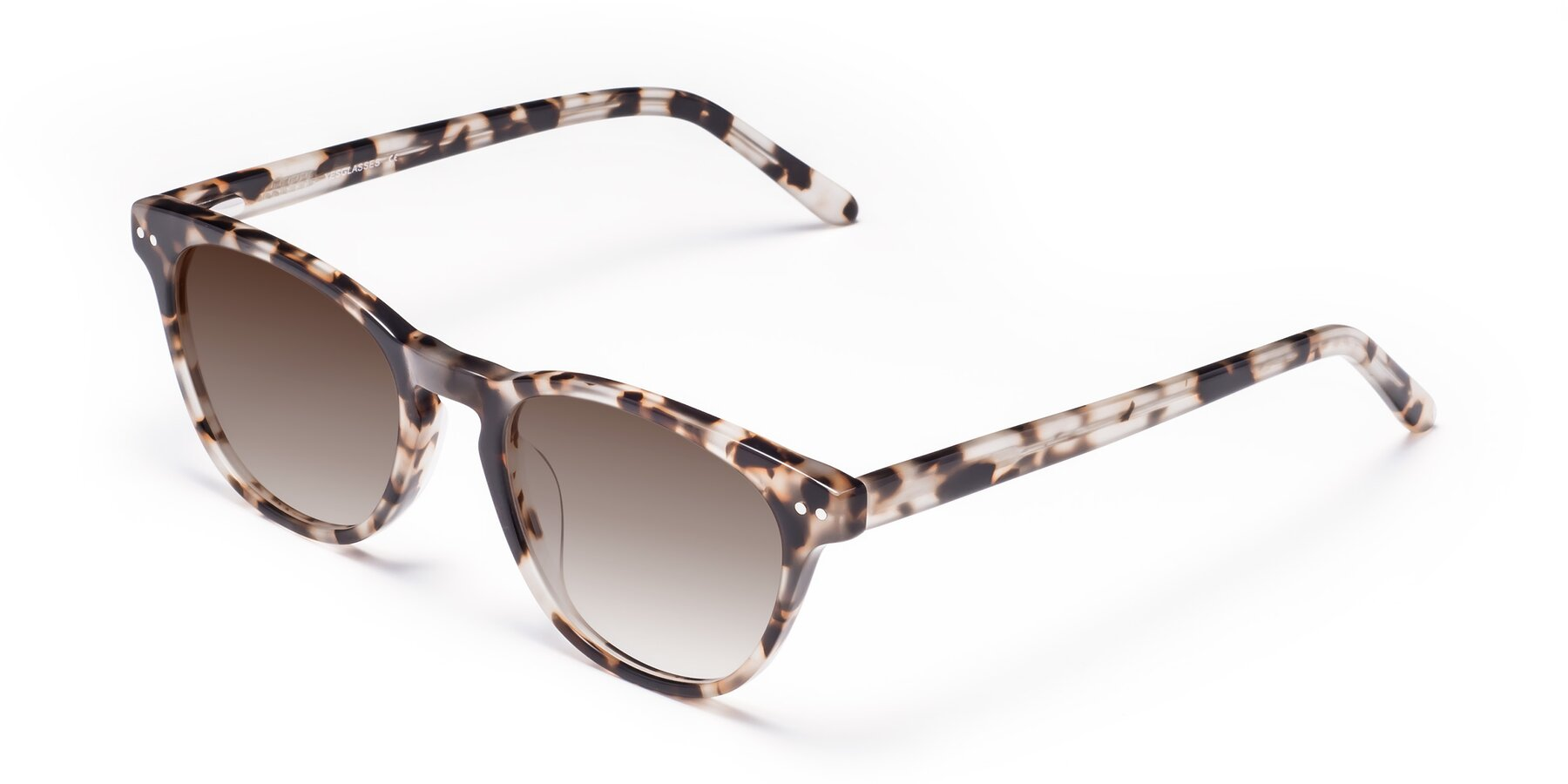 Angle of Blaze in Tortoise with Brown Gradient Lenses