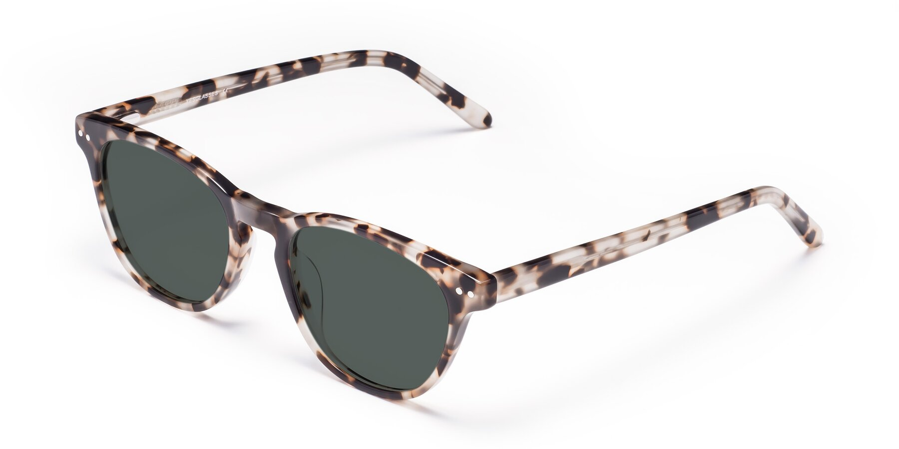 Angle of Blaze in Tortoise with Gray Polarized Lenses
