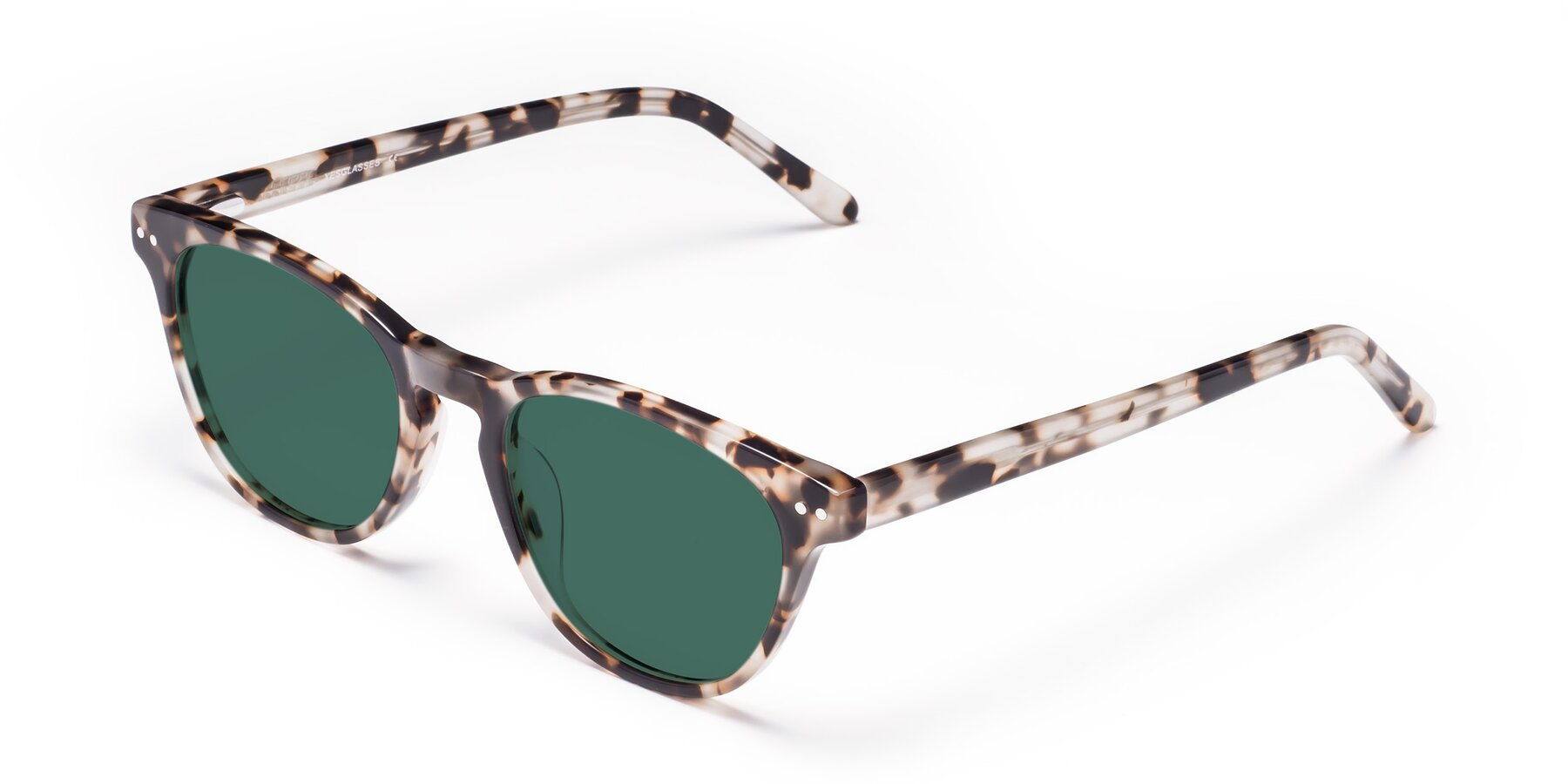 Angle of Blaze in Tortoise with Green Polarized Lenses