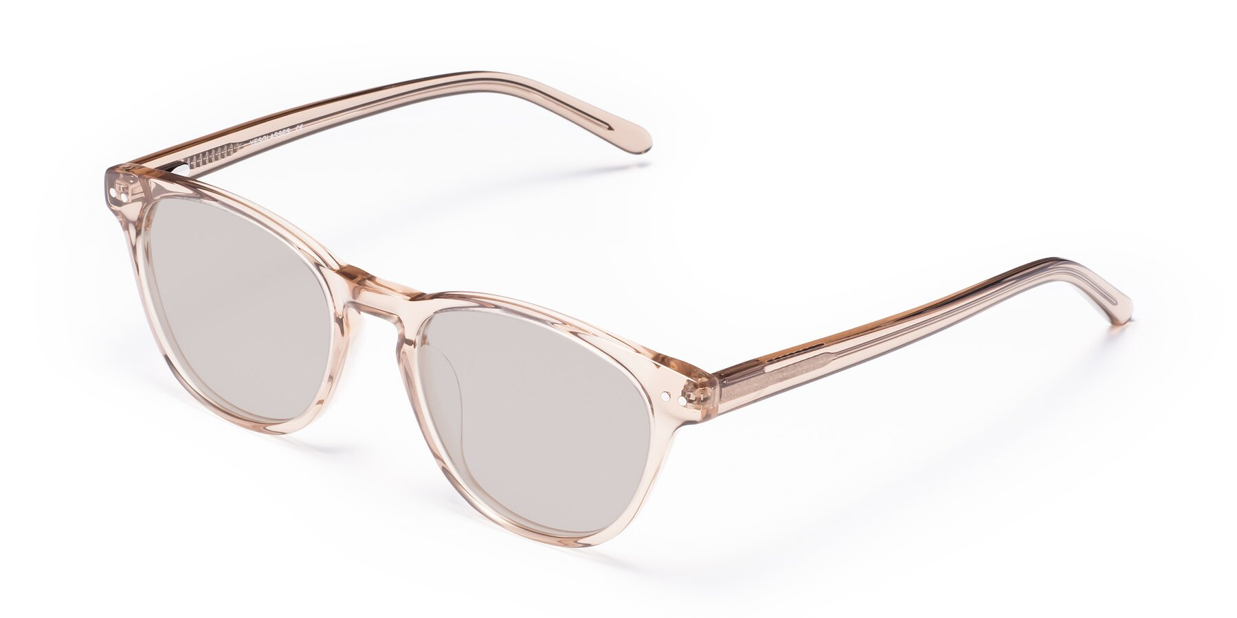Angle of Blaze in light Brown with Light Brown Tinted Lenses
