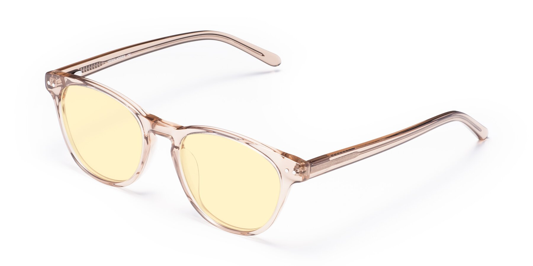 Angle of Blaze in light Brown with Light Yellow Tinted Lenses