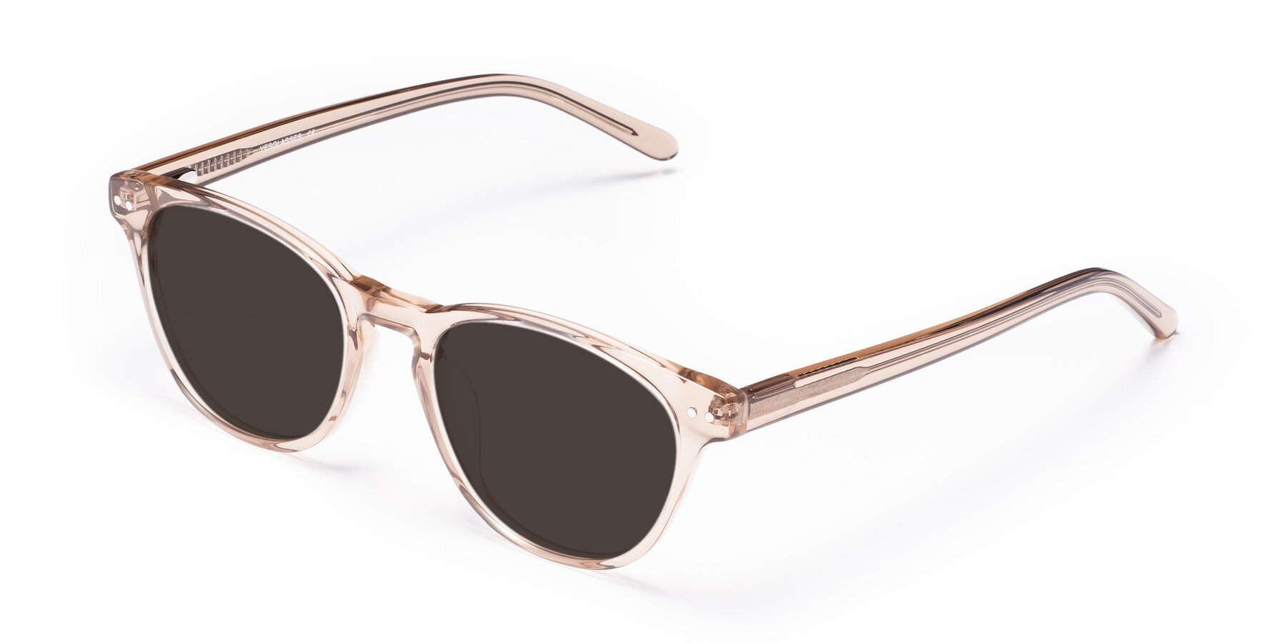 Angle of Blaze in light Brown with Gray Tinted Lenses