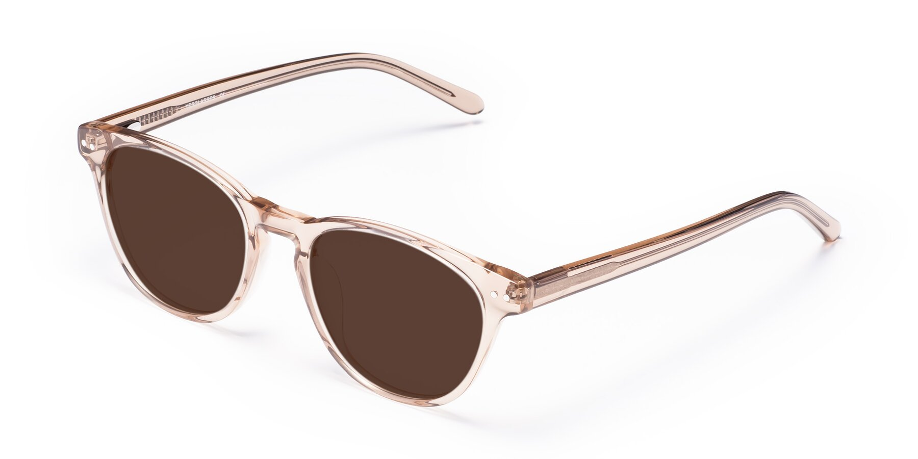 Angle of Blaze in light Brown with Brown Tinted Lenses