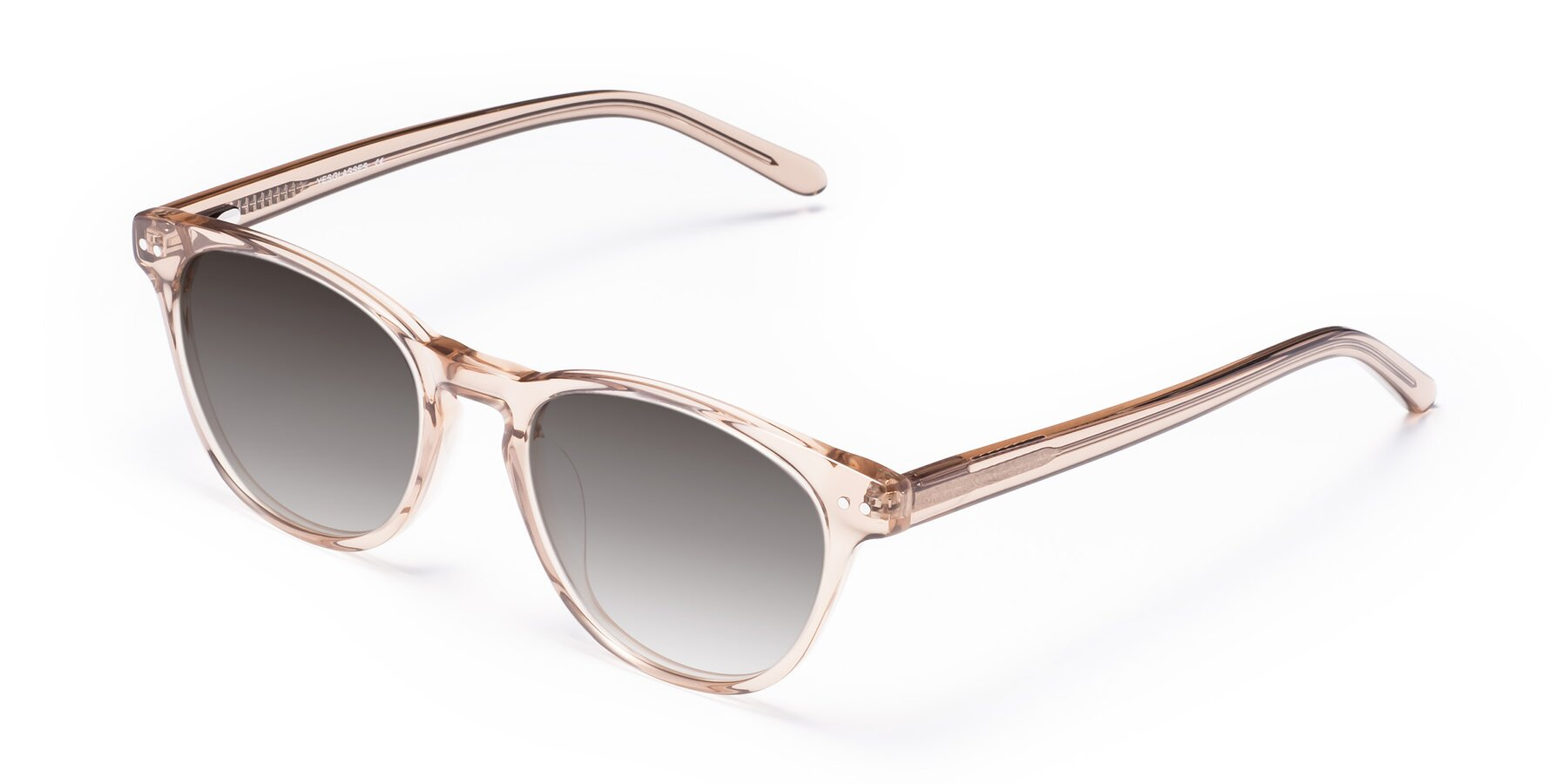 Angle of Blaze in light Brown with Gray Gradient Lenses