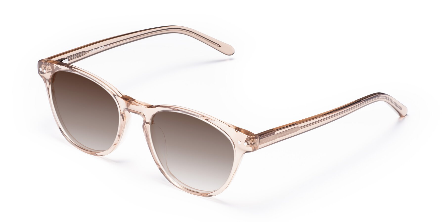 Angle of Blaze in light Brown with Brown Gradient Lenses