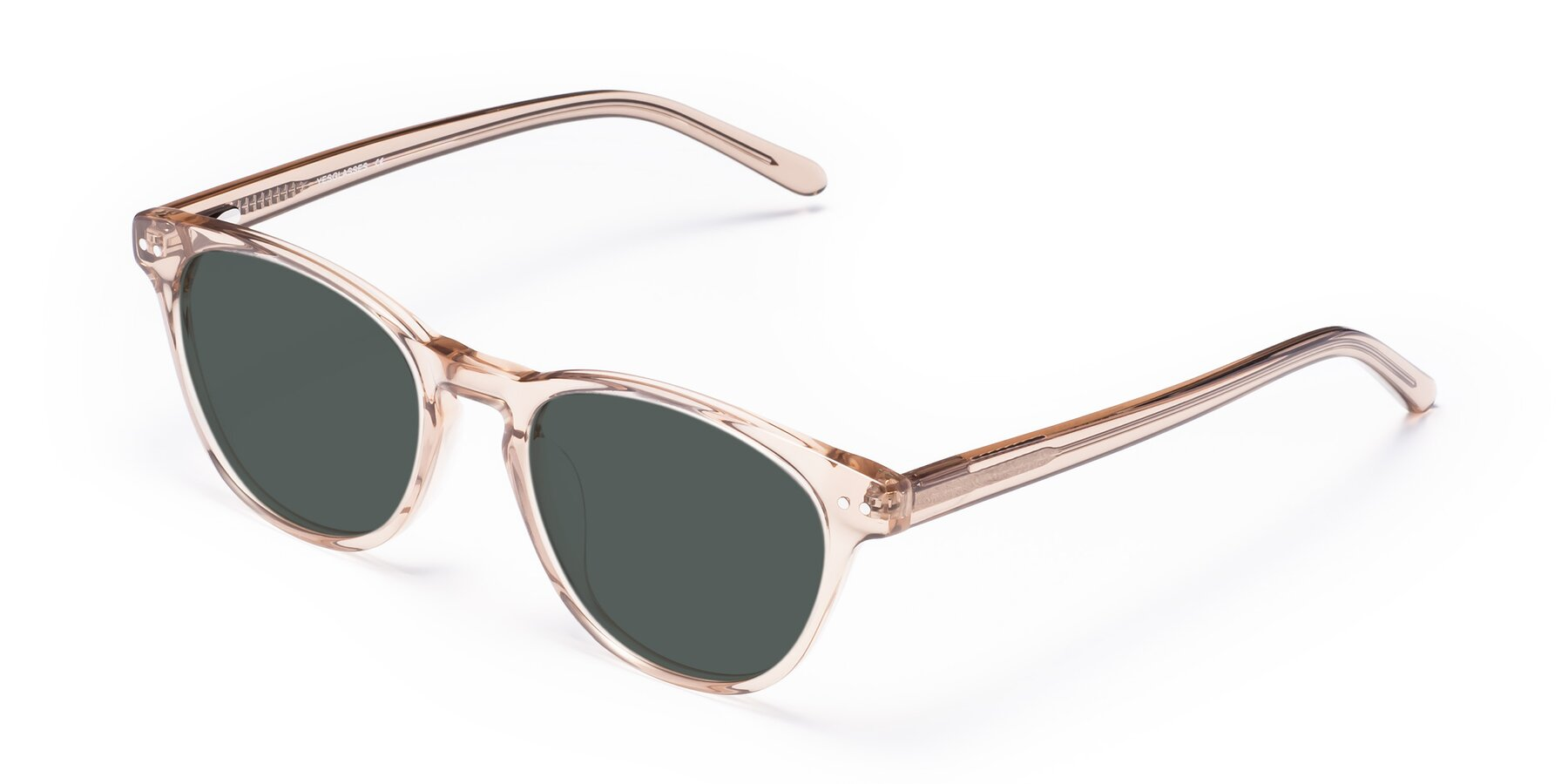 Angle of Blaze in light Brown with Gray Polarized Lenses