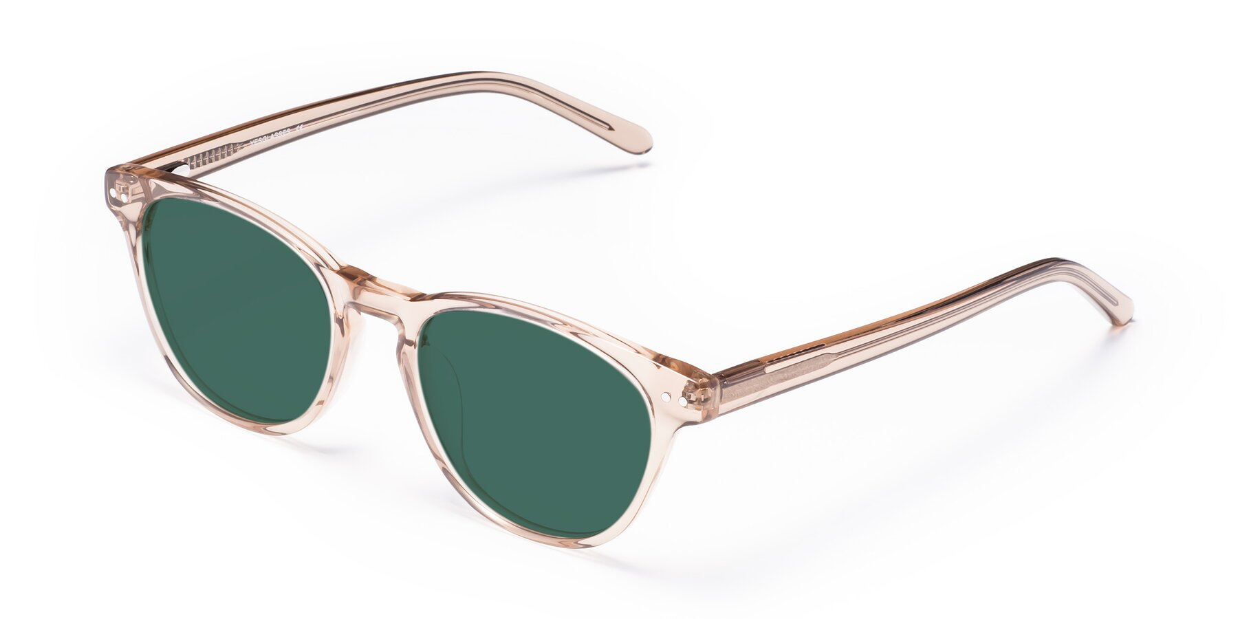 Angle of Blaze in light Brown with Green Polarized Lenses