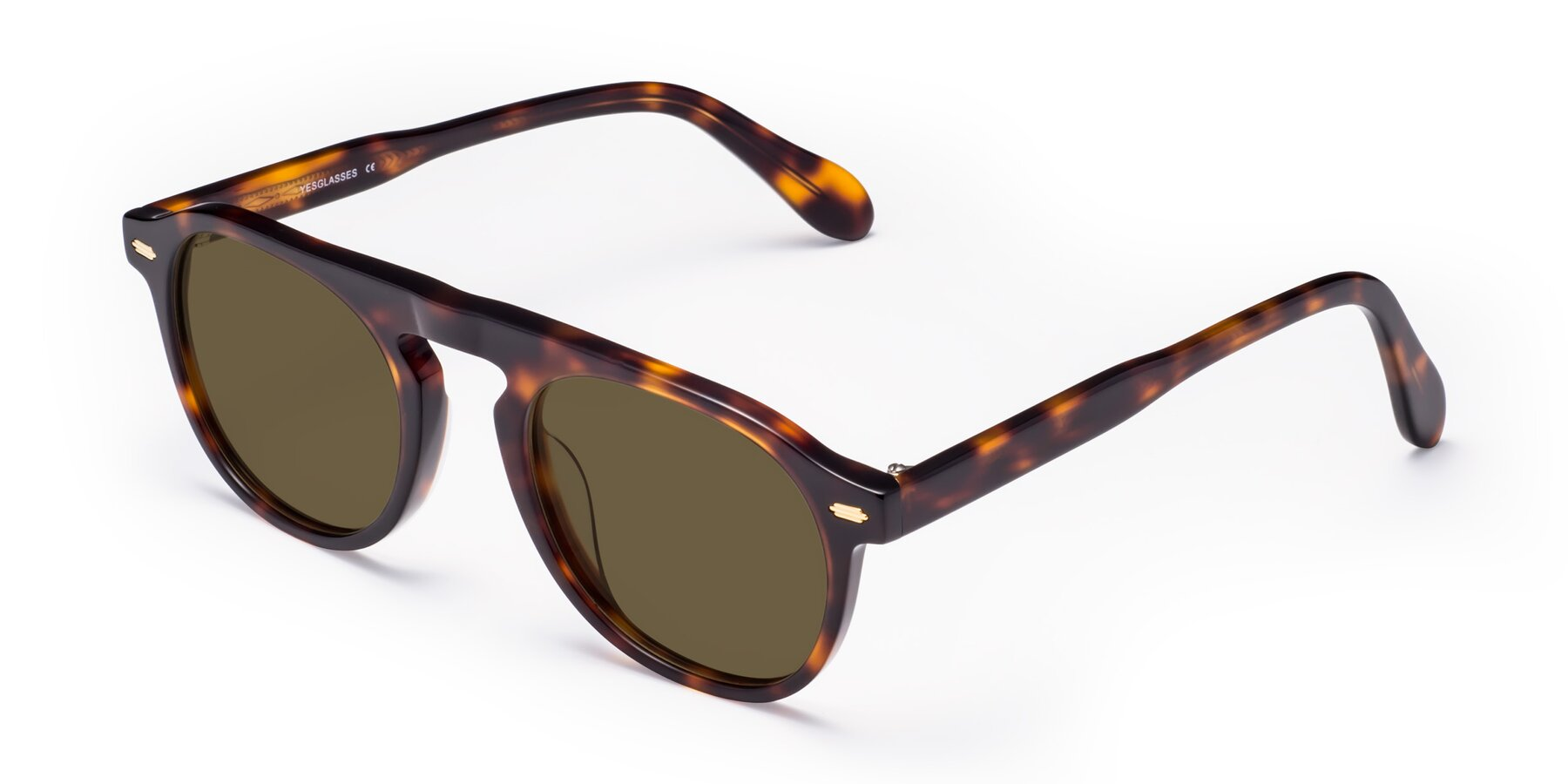 Angle of Mufasa in Tortoise with Brown Polarized Lenses